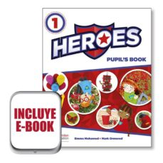 heroes 1 pupil´s book  (srp & ppack & ebook) pack-9780230492981