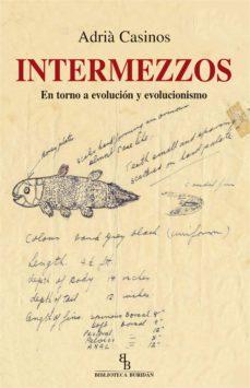 intermezzos en torno a evolucion y evolucionismo biblioteca buridan-adria casinos-9788416995257