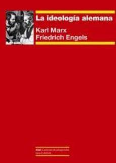 la ideología alemana-karl marx-friedrich engels-9788446039969
