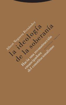 la ideología de la soberanía-albert noguera fernández-9788498798074