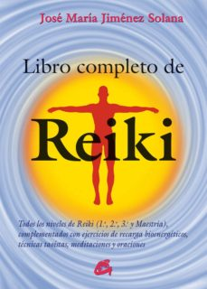 libro completo de reiki-jose maria jimenez solana-9788484455486