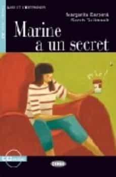 marine a un secret (livre+cd) (a2)-margarita barbera-9788853003799