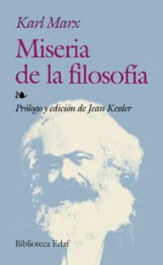 miseria de la filosofia-karl marx-9788441414518