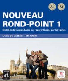 nouveau rond-point 1 (a1-a2)livre de l eleve (+cd)-9788484436614