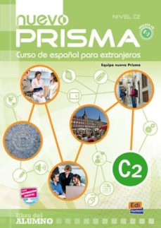 nuevo prisma c2 - libro del alumno + cd-9788498482584