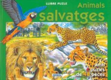 animals salvatges (llibre puzle 48 peces)-9788467700824