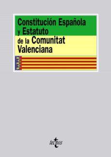 constitucion española y estatuto de la comunitat valenciana-9788430954087