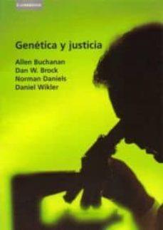 genetica y justicia-allen buchanan-9788483233030