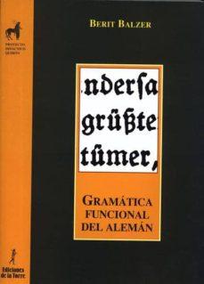 gramatica funcional del aleman-berit balzer-9788479600952