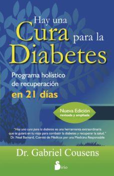 hay una cura para la diabetes-gabriel cousens-9788478088942