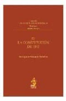 la constitucion de 1845-9788496717756