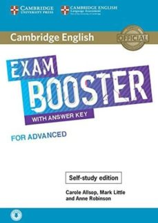 cambridge english exam booster with answer key for advanced - self-study edition-9781108564670