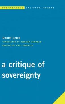 critique of sovereignty-9781786600387