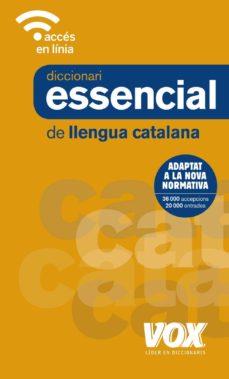 diccionari essencial de llengua catalana-9788499742861