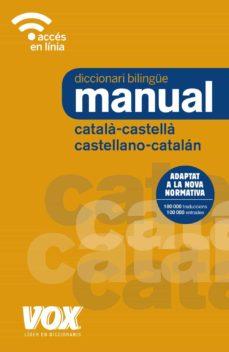 diccionari manual català-castellà / castellano-catalán (3ª ed.)-9788499742731