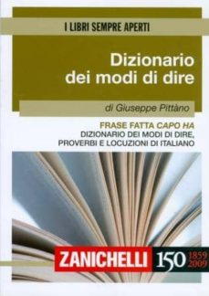 dizionario dei modi di dire-giuseppe pittano-9788808105097