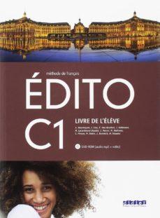 edito c1 eleve+dvd rom 2º bachillerato ed. 2018-9788490492864