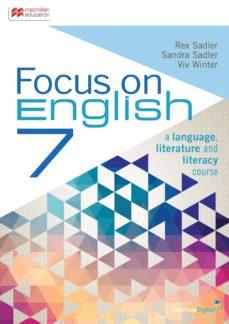 focus on english 7 sudent book + ebk-9781458650412