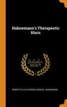 hahnemanns therapeutic hints-9780341736592