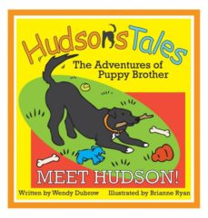 hudsons tales...the adventures of puppy brother, meet hudson!-9780692204047
