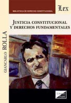 justicia constutucional y derechos fundamentales-giancarlo rolla-9789563929348