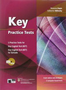 key practice tests book + cd-rom mp3-r. depin-9788853013538