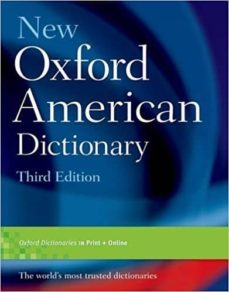 new oxford american dictionary, third edition-9780195392883