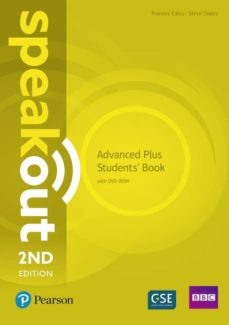 speakout advanced plus 2nd edition students  book with dvd-rom and myenglishlab pack ed 2018-9781292241517
