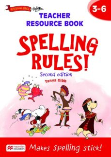 spelling rules! teacher resource book 3-6-9781420236569