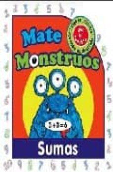 sumas: mate monstruos-9788496891241