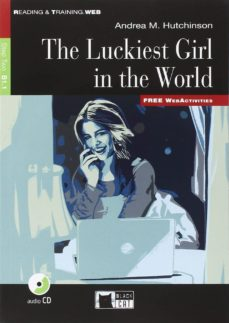 the luckiest gril in the world book and cd-a.m. hutchnson-9788853015501