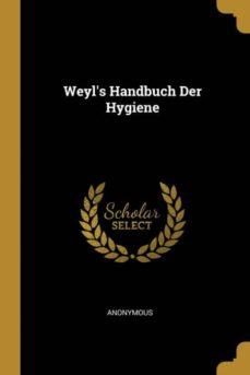 weyls handbuch der hygiene-9780270922790