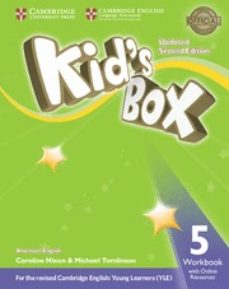 kid s box (us english) (updated 2nd ed - 2018 yle exams) 5 workbook with online resources-9781316627211