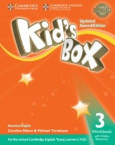 kid s box (us english) (updated 2nd ed - 2018 yle exams) 3 workbook with online resources-9781316627181