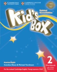 kid s box (us english) (updated 2nd ed - 2018 yle exams) 2 workbook with online resources-9781316627174