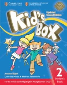 kid s box (us english) (updated 2nd ed - 2018 yle exams) 2 student s book-9781316627518