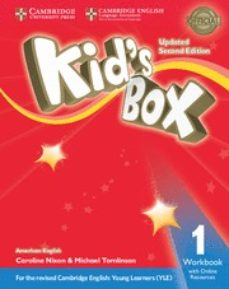 kid s box (us english) (updated 2nd ed - 2018 yle exams) 1 workbook with online resources-9781316627167
