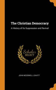 the christian democracy-9780341830597