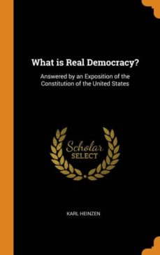 what is real democracy?-9780341664390