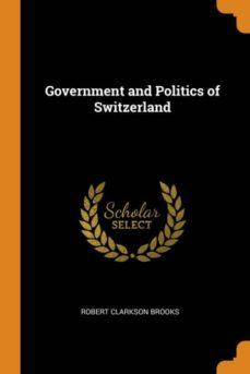 government and politics of switzerland-9780341780373