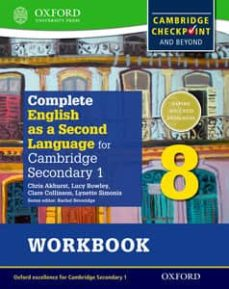 complete english as a second language for cambridge lower secondary workbook 8 & cd-9780198378167