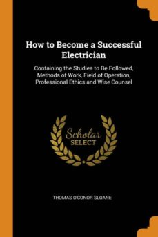 how to become a successful electrician-9780341738169