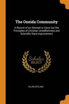 the oneida community-9780341724445