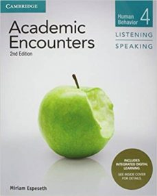 academic encounters level 4 student s book listening and speaking with integrated digital learning: human behavior-9781108348294