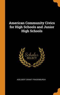 american community civics for high schools and junior high schools-9780342118540