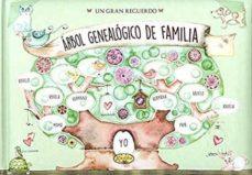 arbol genealogico de familia: un gran recuerdo-9788490870358
