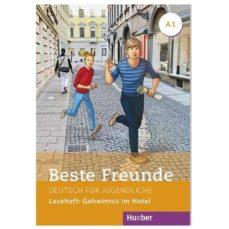 beste freunde - leseheft: geheimnis im hotel (deutsch für jugendliche a1)-9783190810512