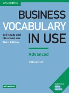 business vocabulary in use (3rd edition) advanced with answers-bill mascull-9781316628232