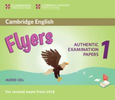 cambridge english flyers 1 for revised exam from 2018 audio cds (2) authentic examination papers from cambridge english language-9781316635995
