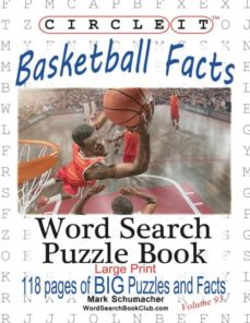 circle it, basketball facts, word search, puzzle book-9781945512193